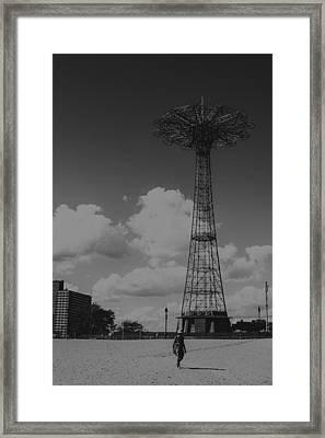 Walking Alone Framed Print by Edward Khutoretskiy