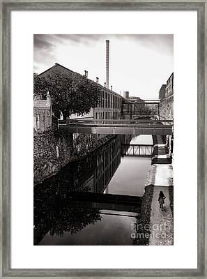Walking Along The C And O Framed Print by Olivier Le Queinec