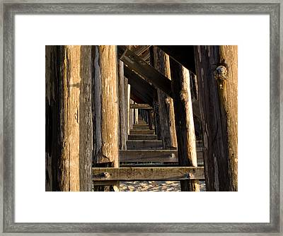 Walking Bridge II Framed Print by Bill Gallagher