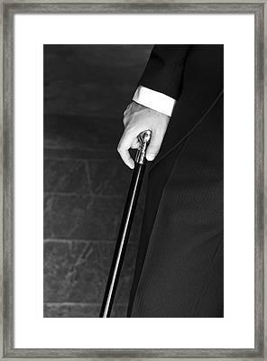 Walking Cane Framed Print