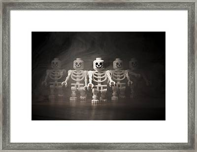 Walking Dead Framed Print by Samuel Whitton