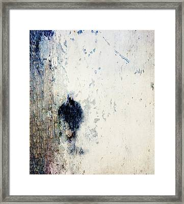Walking In The Rain Framed Print by Carol Leigh