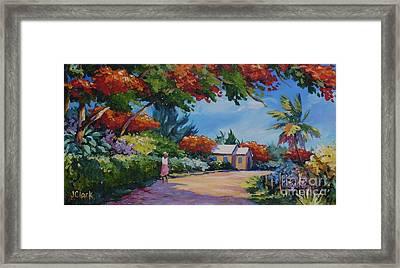 Walking In The Sunshine Framed Print by John Clark