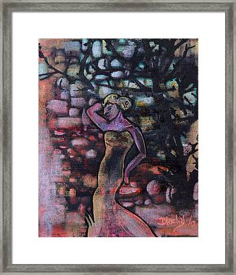Walking Into The Twilight Framed Print by Donna Blackhall