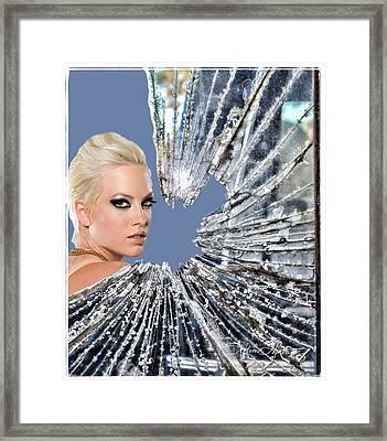 Walking On Broken Glass Framed Print by Sylvia Thornton