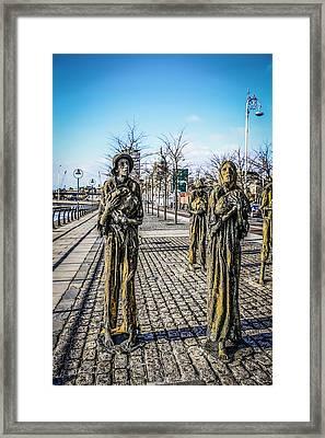 Walking Tall Framed Print