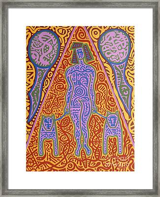 Walking The Dogs Framed Print by Patrick J Murphy