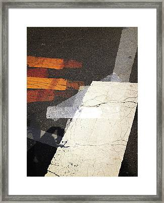 Walking The Dragon Framed Print by Robert M Cooper