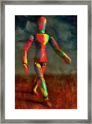Walking The Walk Framed Print by Jeff  Gettis