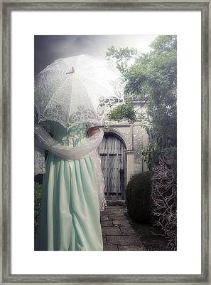 Walking To The Gate Framed Print by Joana Kruse