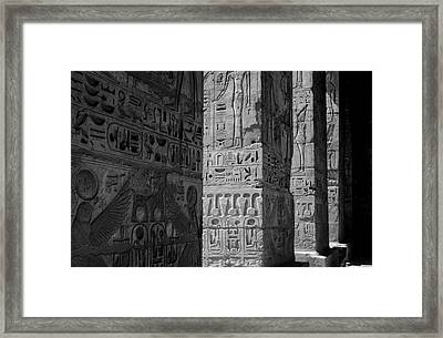 Walking With Ghosts.. Framed Print by A Rey