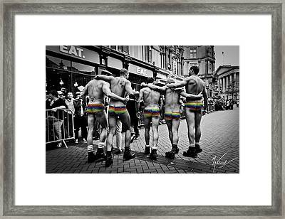 Walking With Pride Framed Print by Max CALLENDER