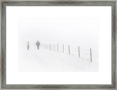 Walking Without Vision Framed Print by Holger Spiering