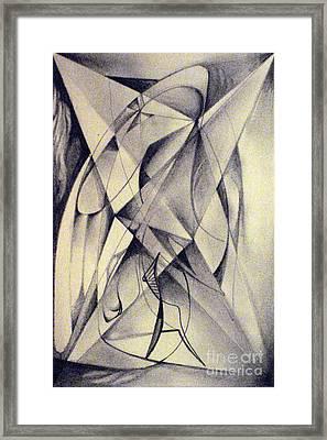 Walker Removing Frames Or Light Fighter Framed Print by Mikhail Savchenko