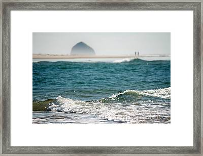 Walks On Water Framed Print