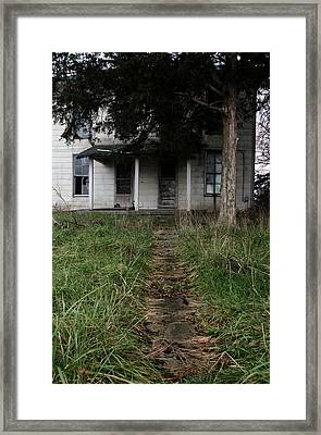 Walkway Framed Print by Off The Beaten Path Photography - Andrew Alexander
