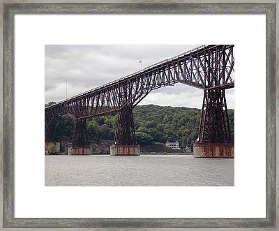 Walkway Over The Hudson Framed Print