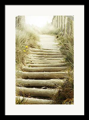 Stair Walk Framed Prints