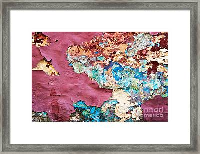 Wall 1 Framed Print by Delphimages Photo Creations