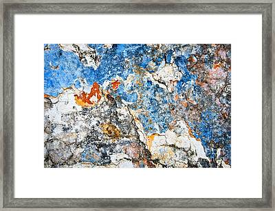 Wall 2 Framed Print by Delphimages Photo Creations