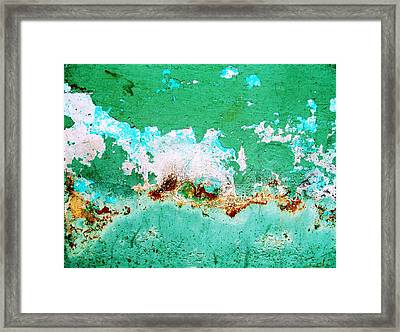 Wall Abstract 77 Framed Print
