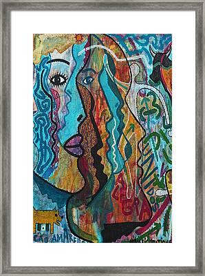 Wall-art 028 Framed Print by Joachim G Pinkawa