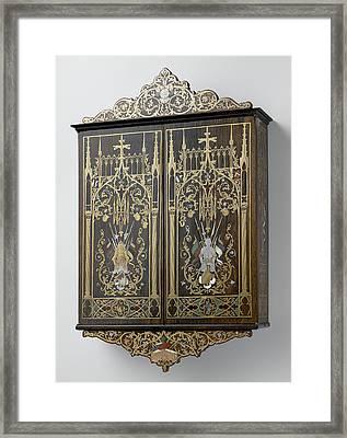 Wall Cabinet, Franz Xaver Fortner Framed Print