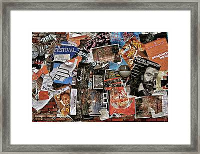 Wall Of Babel Framed Print