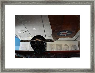 Wall Of Great Aviators Framed Print