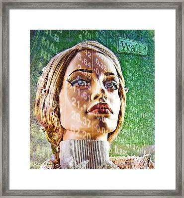 Wall Street Framed Print by Chuck Staley