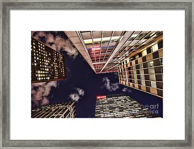 Wall Street Framed Print by Paul Ward