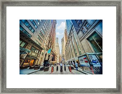 Wall Street Framed Print
