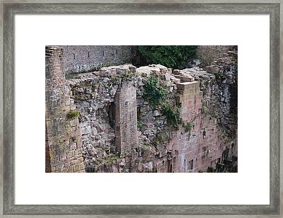 Wall Through Time Framed Print