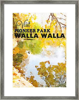 Walla Walla Framed Print by Linda Woods