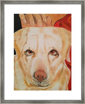 Framed Print featuring the painting Walle by Brindha Naveen