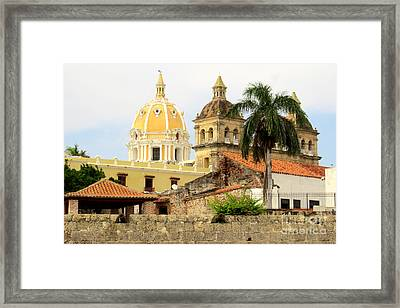 Walled Cathedrals Framed Print