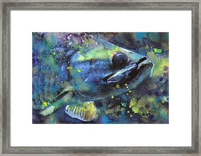 Walleye Framed Print by Susan Powell