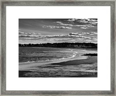 Wallis Beach Framed Print