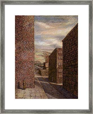 Wallman Revisited Framed Print