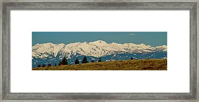 Wallowa Mountains Oregon Framed Print