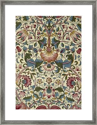 Wallpaper Design Framed Print