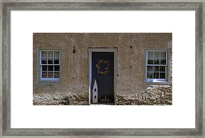 Walls And Windows Framed Print by M Hess