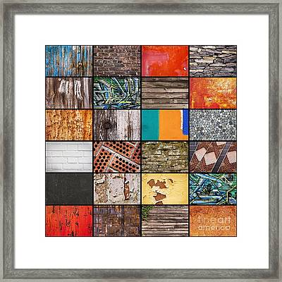 Walls Framed Print by Delphimages Photo Creations