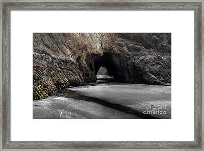 Walls Of The Cave Framed Print