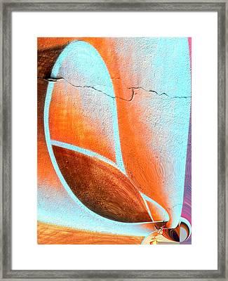 Walltatoo Framed Print by Nico Bielow