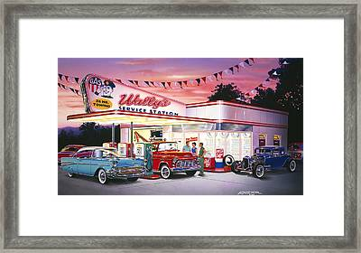 Wallys Framed Print by Bruce Kaiser