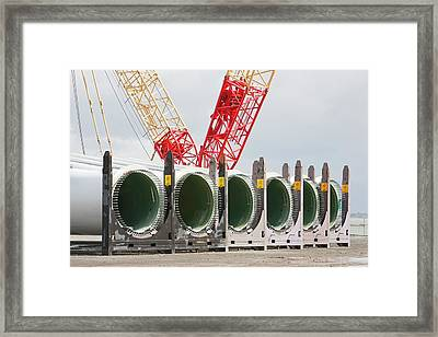 Walney Offshore Wind Farm Framed Print by Ashley Cooper