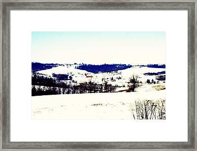 Walnut Creek  Framed Print by Andrea Dale