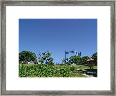 Walnut Hill Cemetery Framed Print