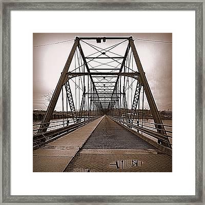 Walnut Street Bridge Framed Print by Joseph Skompski